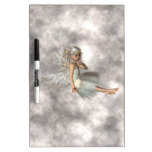 Angel in the Clouds Dry Erase Board