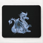 Blue Winged Dragon Mouse Pad