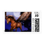 Enchanted Pegasus  Stamp