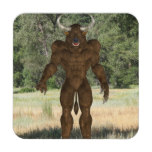 Greek Minotaur Beverage Coaster