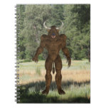 Greek Minotaur Notebook