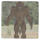 Greek Minotaur Stone Coaster