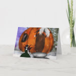 Halloween Fairy Greeting Card