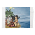 Mermaid on Beach Towel