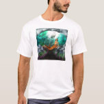 Mermaid with Shipwreck T-Shirt