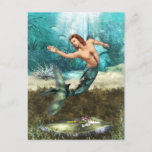 Mermen  Postcard