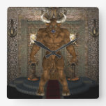 Minotaur Wall Clock