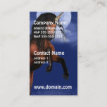 Moonlit Unicorn Business Card