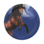 Moonlit Unicorn Paper Plate
