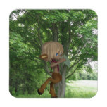 Piping Satyr Coaster