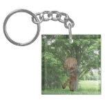 Piping Satyr Keychain