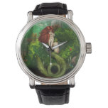 Red Haired Mermaid Wristwatch