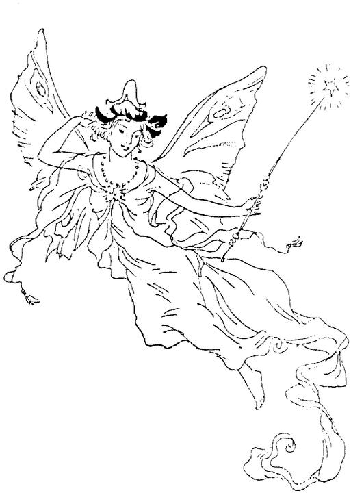 magical creature coloring pages - photo#12