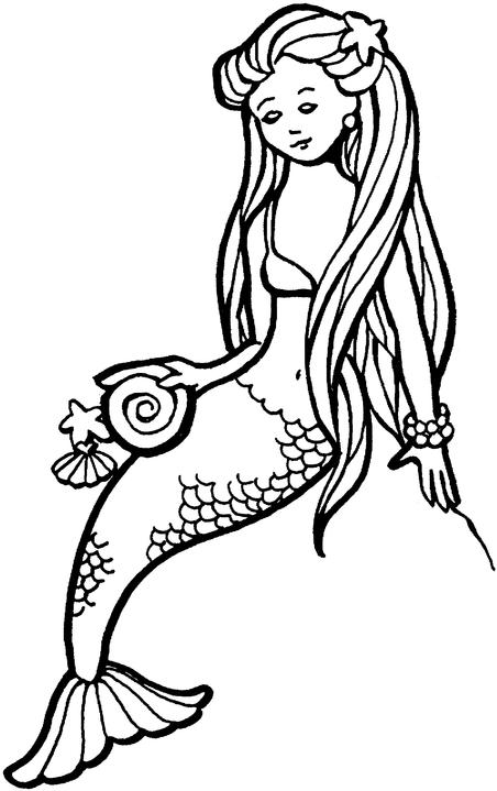 magical creature coloring pages - photo#34